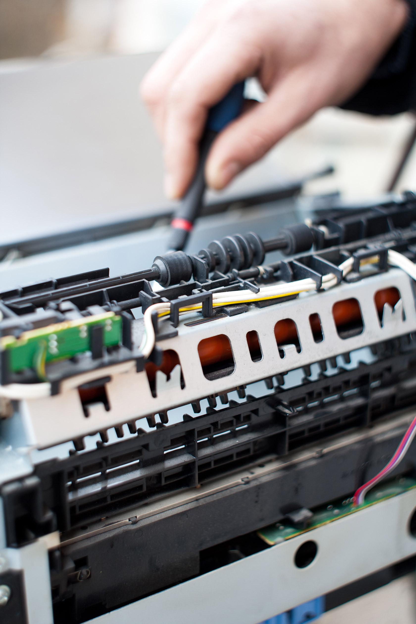 Drucker Wartung beugt Drucker Reparatur vor